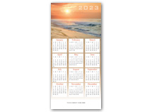 Sea of Tidings Calendar Cards